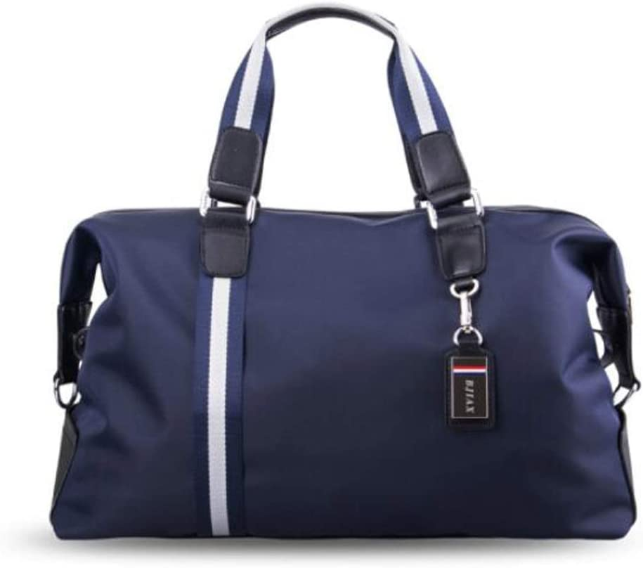 ZHICHUANG Duffel Bag Short Travel Bag Travel Clothes Bag Black Large Size: 502228cm Travel Duffel Bag for Men and Women Large Capacity Gym Bag Waterproof Nylon Cloth Mens Travel Bag