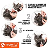 Flea & Worm Collar for Cats - Flea Control and Tick Treatment - Better than Oral Flea Control - Cat Dewormer - Cat Worm Treatment for Tapeworms