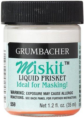 Brand New Grumbacher Miskit Liquid Frisket-1.2oz Brand (Miskit Liquid)