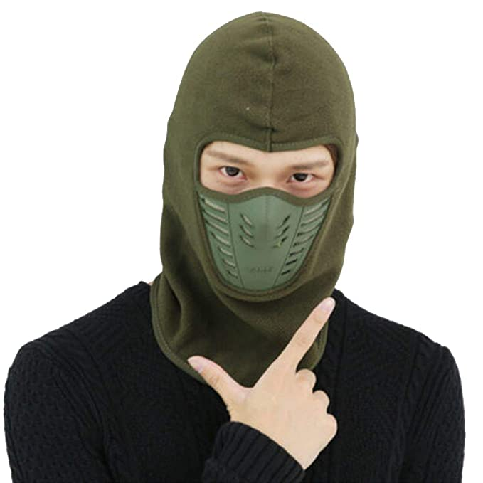 Windproof Ski Mask Men Winter Balaclava Face Mask Cold ...