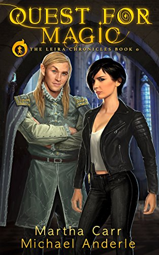 Quest For Magic: The Revelations of Oriceran (The Leira Chronicles Book 0) cover