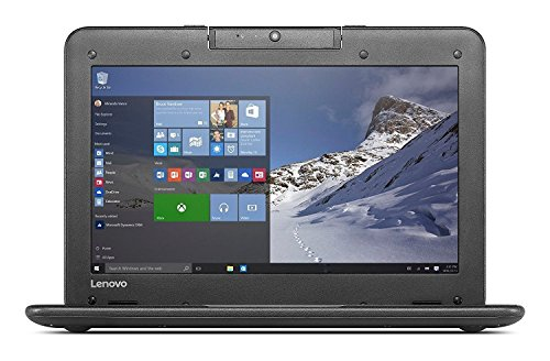 Lenovo N22 11.6-inch High Performance Laptop Notebook, Intel Dual-Core Processor 2.16GHz, 4GB RAM, 64GB SSD, Rotatable Webcam, Water-Resistant Keyboard, Windows 10 Pro