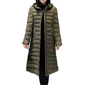 Womens Coats Winter Clearance!Besde Womens Fashion Casual Warm Lightweight Solid Hooded Outwear Warm Coat