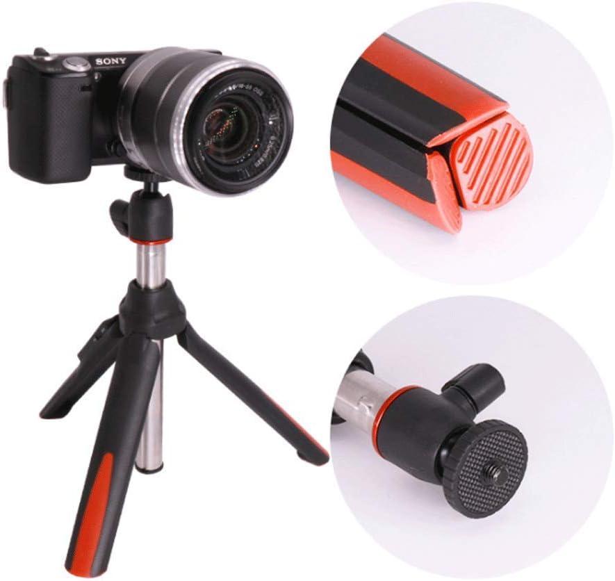 YILF Portable Tripod Bluetooth Remote Control Telescopic Desktop PTZ Mobile Phone Camera Stand Self-Timer Video