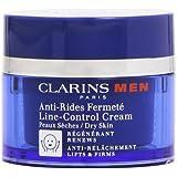 Clarins Men Line-Control Cream Dry Skin Care, 1.7 Ounce