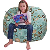 Ahh! Products Bubbly Lake Cotton Washable Large Bean Bag Chair