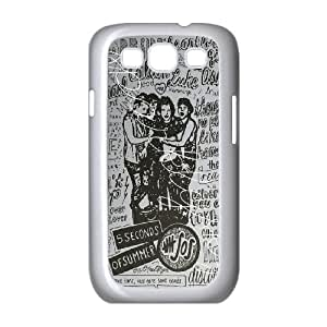 Retro Design The Music Band 5SOS for Samsung Galaxy S3 I9300 Phoen Case ADS267702