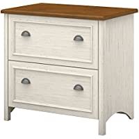 Bush Furniture Stanford 2 Drawer Lateral File Cabinet (Antique White)