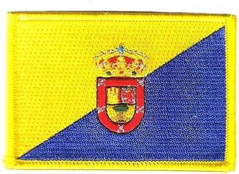 FahnenMax – Parche de España – Gran Canaria Bandera de: Amazon.es: Deportes y aire libre