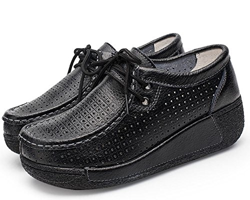 Donna Espadrillas Hollow Espadrillas HiTime Black Donna Black Hollow HiTime UEwqZnxOf