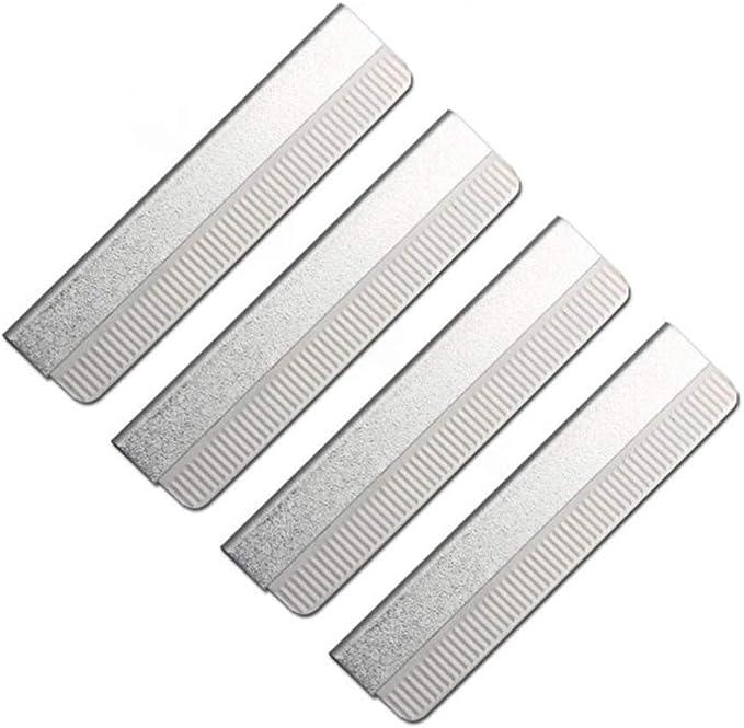 Healifty 40 piezas de afeitadora de cejas de acero inoxidable cara ...