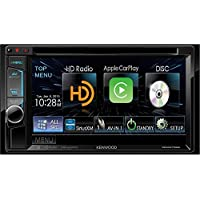 Kenwood DDX6702S 6.2 DVD Receiver with Apple CarPlay, Bluetooth and HD Radio