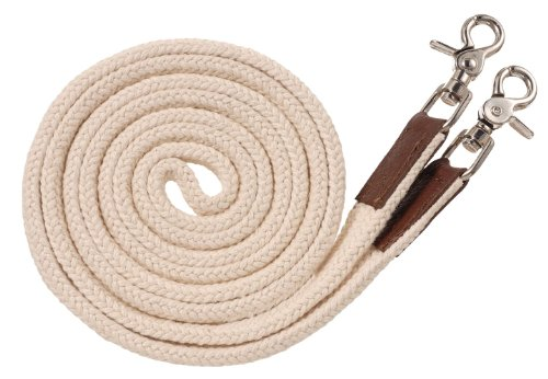 Tough 1 Royal King Deluxe Flat Roping/Contest Reins, - Western Reins