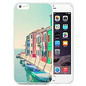 New Beautiful Custom Designed Cover Case For iPhone 6 Plus 5.5 Inch With Shore City (2) Phone Case