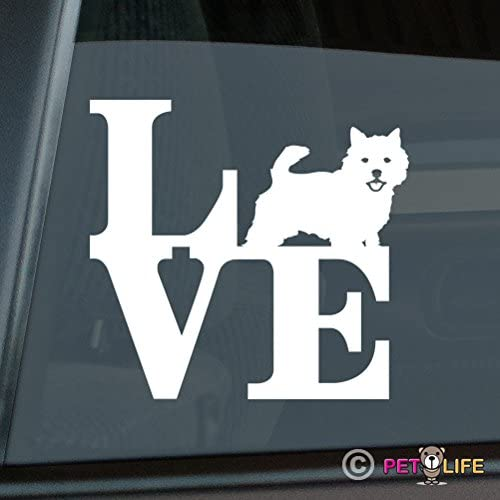 Mister Petlife I Love My Norwich Terrier Sticker Vinyl Auto Window