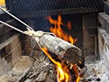 "Genuine Stainless Fireplace Tongs 28 1/2"" Log"