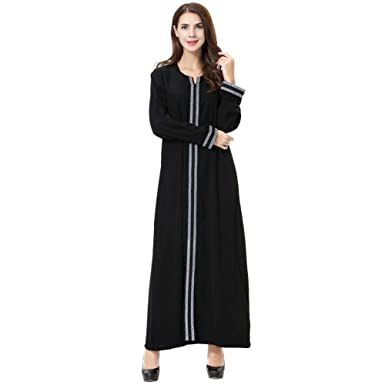 be1b4d1f1ae Goyajun Robe de Femmes Musulmanes