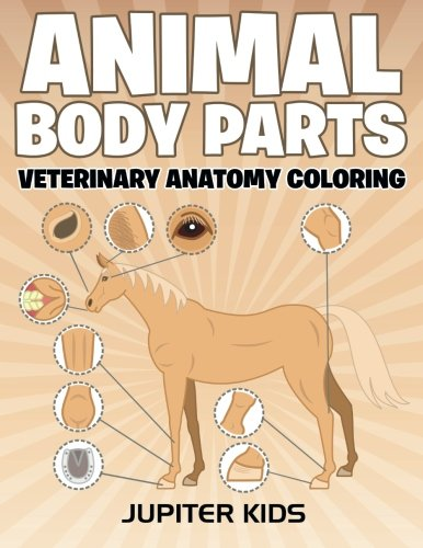 Animal Body Parts Veterinary Coloring
