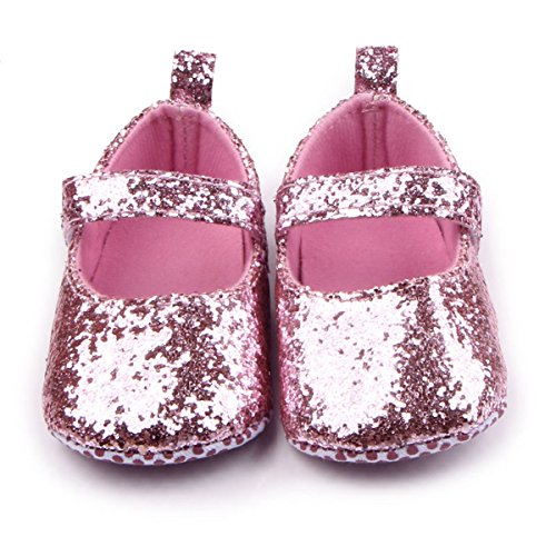 infant pink dress shoes - 2