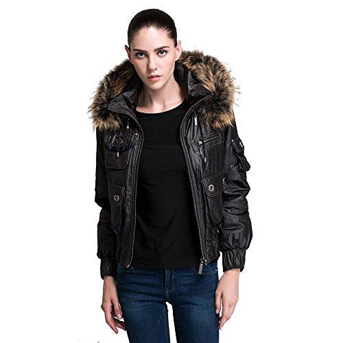 Fur Hood Flight Jacket - 2