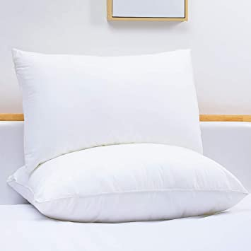 Hypoallergenic Down-Alternative Super Soft Bed Pillows 4-Pack