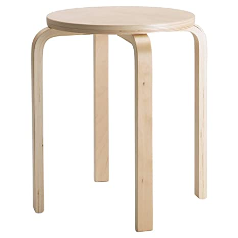 Fantastic Amazon Com Ikea Asia Frosta Stool Birch Plywood Kitchen Ncnpc Chair Design For Home Ncnpcorg
