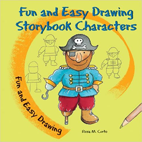 Book Fun and Easy Drawing Storybook Characters
