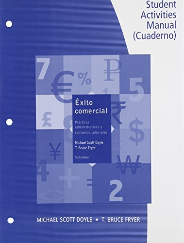 Download By Michael Scott Doyle SAM for Doyle/Fryer's ??xito comercial, 6th (6th Edition) pdf epub
