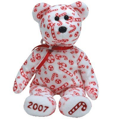 5a28dddd6b7 Image Unavailable. Image not available for. Color  Ty Beanie Babies Candy  Canes - Bear ...