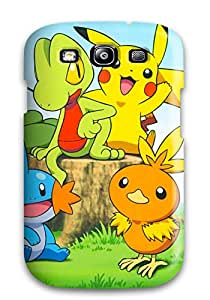 High Impact Dirt/shock Proof Case Cover For Galaxy S3 (pokemon)