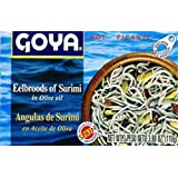 Goya Eelbroods of Surimi, 3.88-Ounce Unit (Pack of 5)
