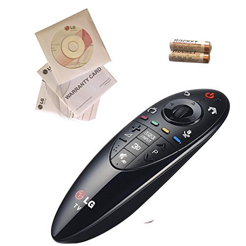 Original LG AN-MR500 / EBX62208301 Magic Remote Control. Compatibility/ 2014 LG Smart TVs (accessory required for LB570 and 580).(Worldwide use, English Keypad)