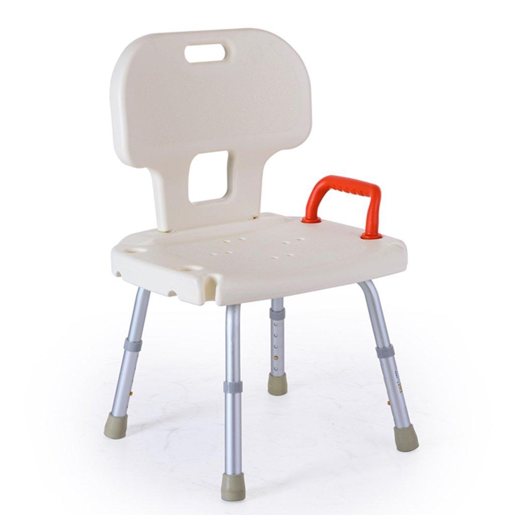 大人気新品 バスの椅子アルミニウム合金老人シャワースツールバスルームチェアバス用品シャワーチェア B07DMX88CV B07DMX88CV, 雛人形5月人形の人形屋ホンポ:ed40945b --- redondobrasil.com