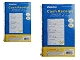 RECEIPT BOOK 5 1/4X11''2 PART X 50SET , Case of 96