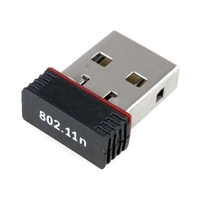 RANZ WiFi Receiver 300Mbps, 2.4GHz, 802.11b/g/n USB 2.0 Wireless Mini Wi Fi Network Adapter Wireless USB Adapters