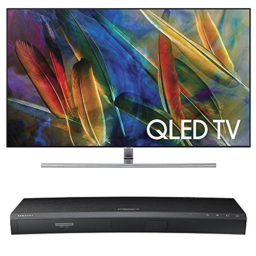 Samsung QN55Q7F Flat 55-Inch 4K Ultra HD Smart QLED TV w/ Sa