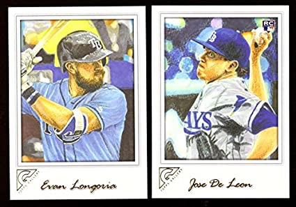 af3c7d5276 Amazon.com  2017 Topps Gallery - TAMPA BAY RAYS Team Set ...