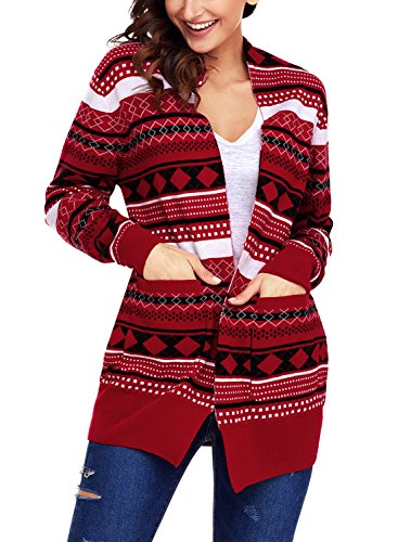 Christmas Knitted Cardigans Sweater