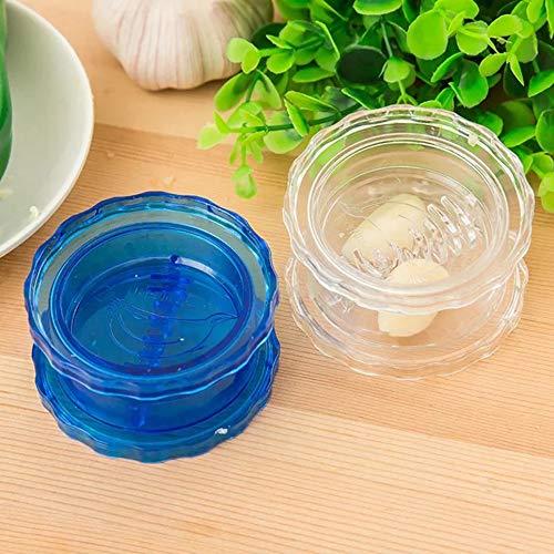 Creative Multifunctional Garlic Ginger Crusher Grinder Press Rotate Kitchen Gadget Tools