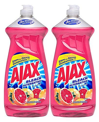 Ajax Dish Washing Soap Bleach Alternative, Ruby Red Grapefruit, 28oz, 2 Pack