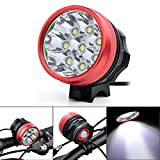 TianNorth 12000LM 8x CREE XML XM-L T6 LED Cycling Bicycle Bike Light Lamp ...
