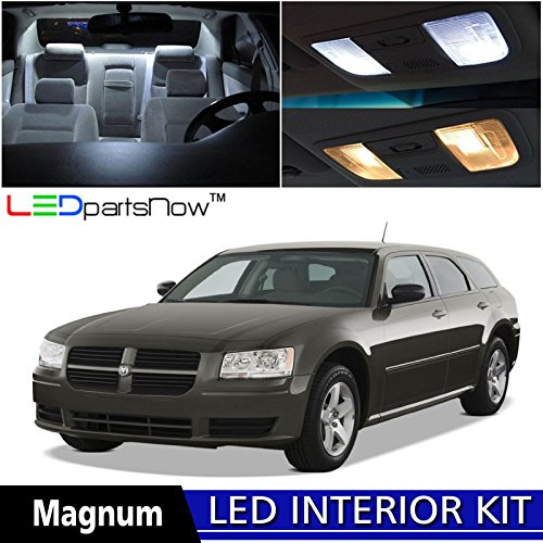ledpartsnow-dodge-magnum-2005-2008-xenon-white-premium-led-interior-lights-package-kit-7-pieces-inst