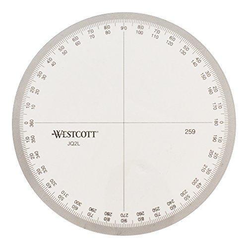 Westcott Protractor Measuring Tool (259) by Westcott (Image #3)