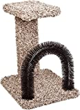 ware brush - WARE 089669 Kitty Brush-N-Perch Natural, 13.5X15.75X20.5