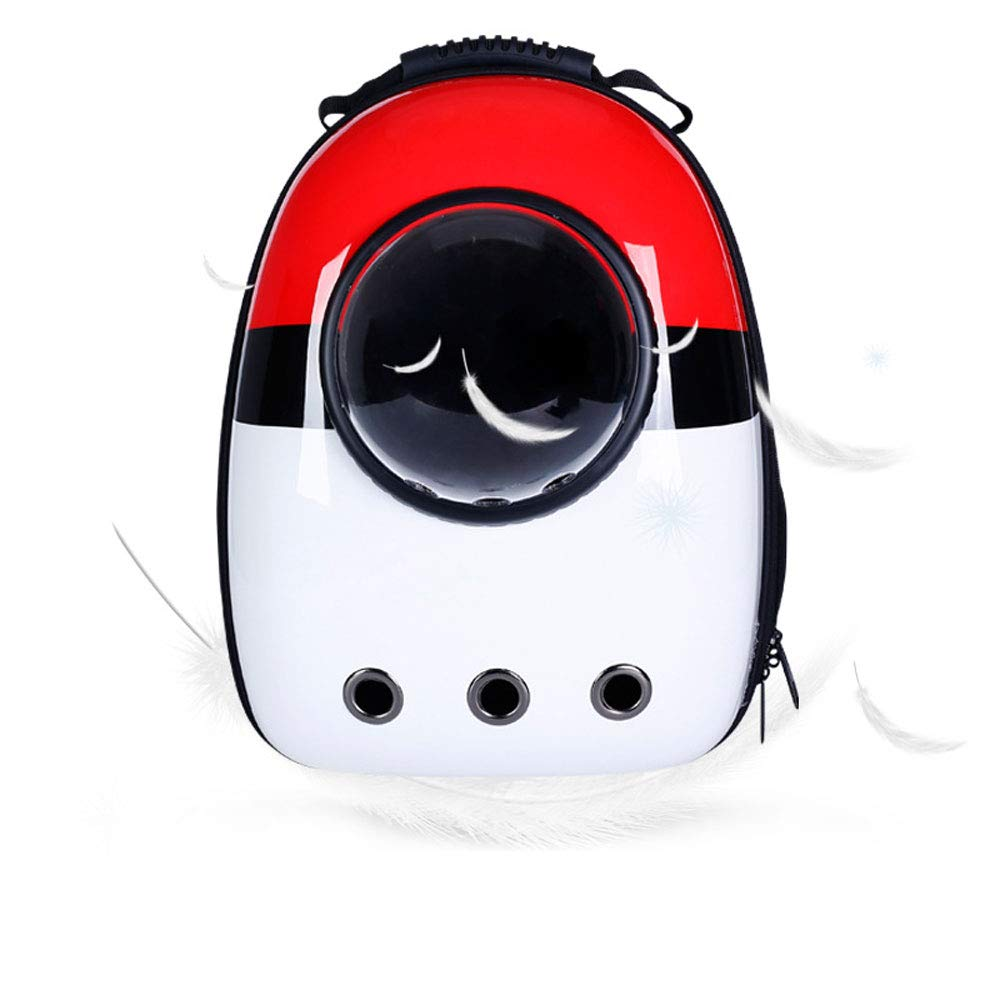 A5 FITIN Pet Rucksack Pet Space Backpack Travel Portable Pet Bag Breathable Cat Bag Puppy Backpack Pets Supplies Pet Dog Backpack