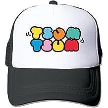 Longdandan Adjustable TSUM TSUM Logo Snapback Cap One Size