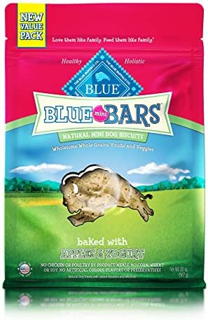 Dog Treats: Blue Buffalo Blue Mini Bars