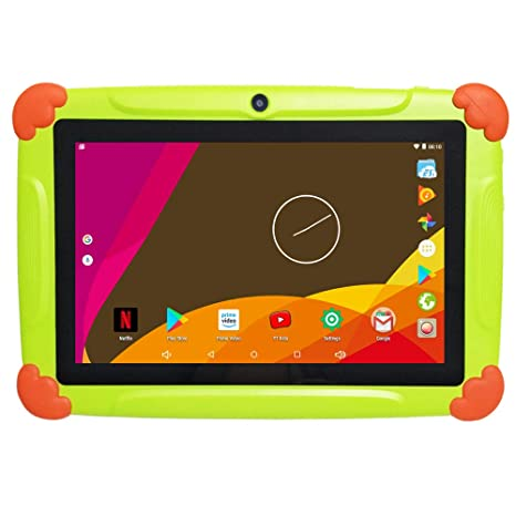 Tablet para Niños 7 Pulgadas con WiFi 2GB RAM 32GB ROM - Quad Core Android 6.0 - Google Play y Control Parental preinstalado, Bluetooth Doble Cámara - ...