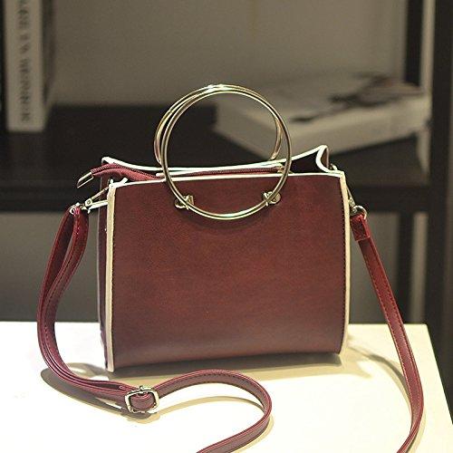 Satchel Gules portable Bag Tslx Color ATvwBq