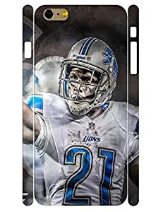 Design Fashion Football Guy 3D Print Hard Cell Phone Protective Case for Iphone 6 Plus 5.5 Inch